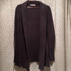 T Alexander Wang cotton modal lightweight cardigan